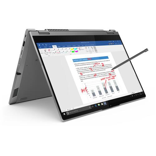"20WE0010AU-P-LENOVO ThinkBook 14S YOGA 14"" FHD TOUCH Intel i7-1165G7 16GB 512GB SSD WIN10 PRO Intel Iris Xe Graphics Fingerprint Backlit Pen 1YR W10P Flip - PROMO"