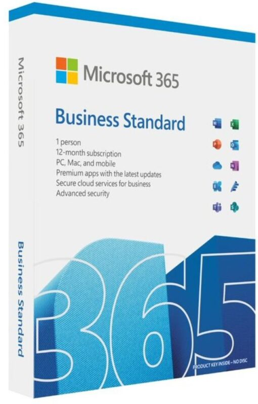 KLQ-00648-Microsoft 365 Business 2021 Standard Retail English APAC 1 User 1 Year Subscription