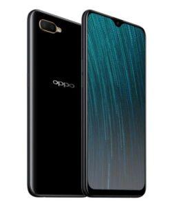 "CPH1920Black-OPPO AX5s 64GB Black - 6.2"" Waterdrop Screen"