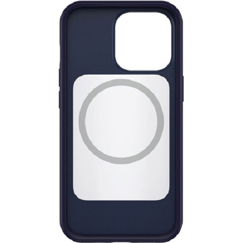 77-83590-OtterBox Apple iPhone 13 Pro Symmetry Series+ Antimicrobial Case with MagSafe - Navy Captain (Blue) (77-83590)