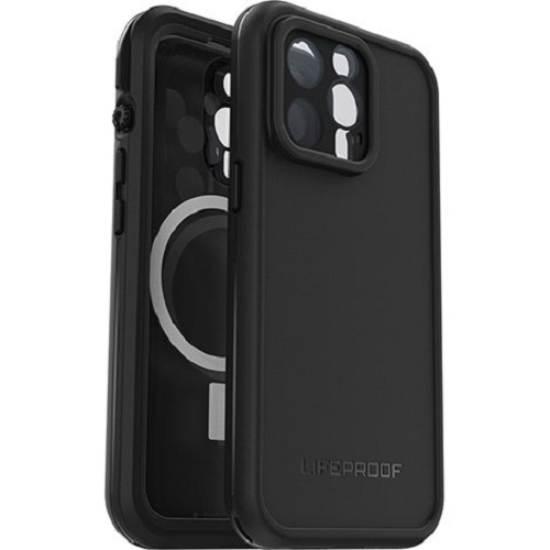 77-83672-LifeProof FRE MAGSAFE Case for Apple  iPhone 13 Pro - Black (77-83672) -  WaterProof