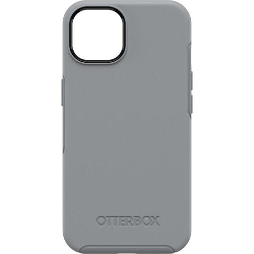 77-85345-OtterBox Apple  iPhone 13 Symmetry Series Antimicrobial Case - Resilience Grey (77-85345)