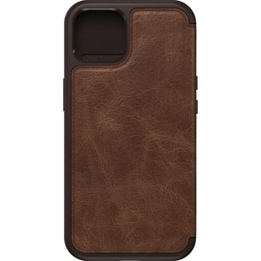 77-85799-OtterBox Apple iPhone 13 Strada Series Case -  Espresso Brown(77-85799) - Classic