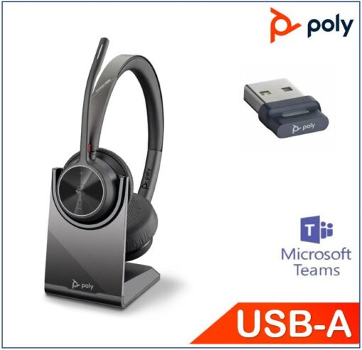 218476-02-Plantronics/Poly Voyager 4320 UC with Charge Stand
