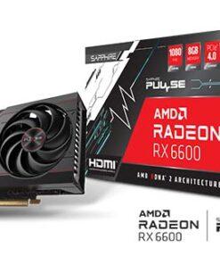 11310-01-20G-SAPPHIRE PULSE AMD Radeon RX 6600 Gaming Graphics Card 8GB GDDR6